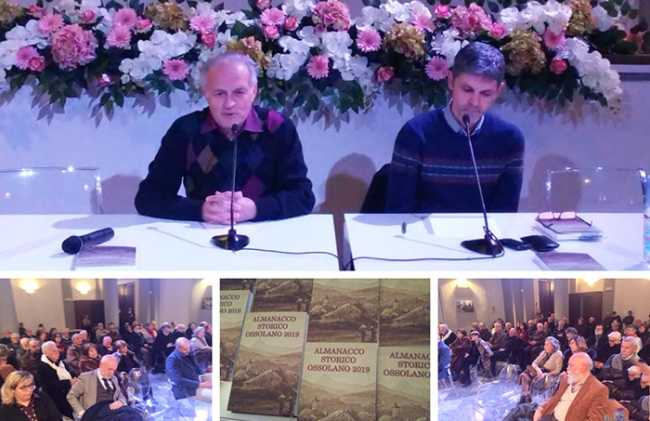 """Presentato l'""""Almanacco Storico Ossolano 2019″, nuova veste grafica per la 26^ edizione."""
