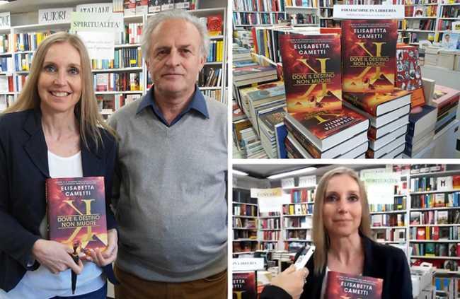 La signora del thriller italiano, Elisabetta Cametti, a Domo per il nuovo libro.