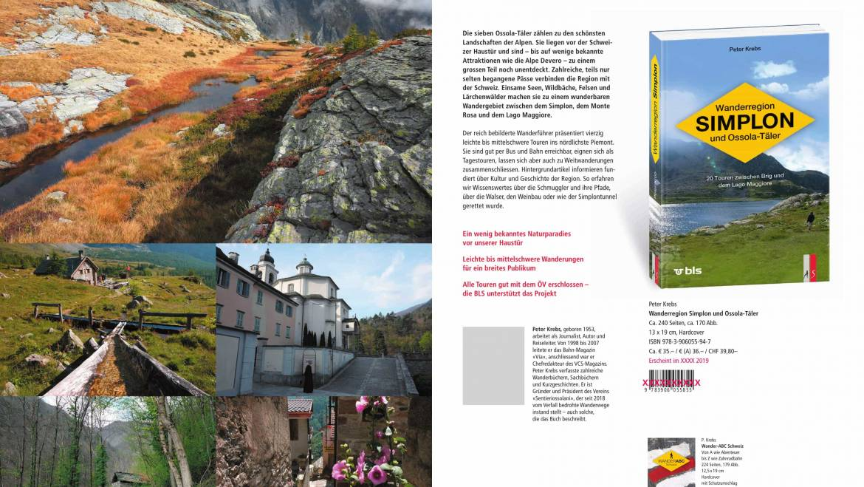 Presentazione Wanderregion Simplon und Ossola