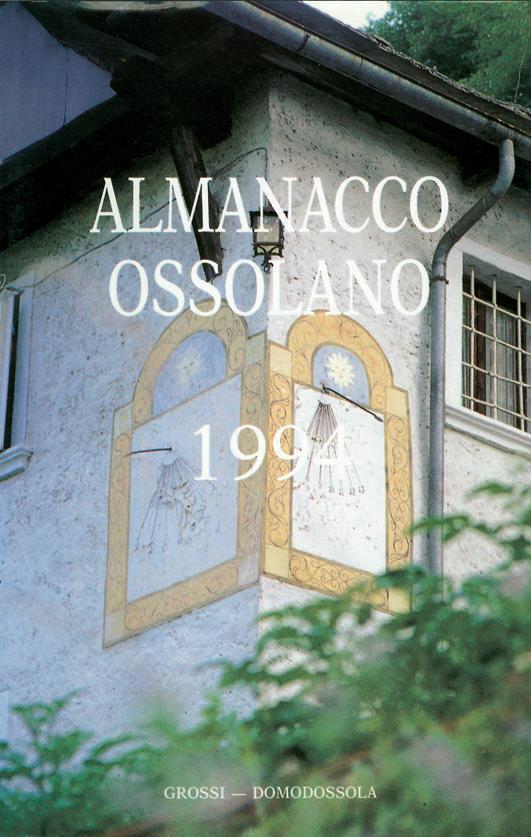 Almanacco Ossolano 1994