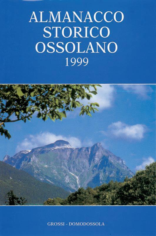 Almanacco Storico ossolano 1999
