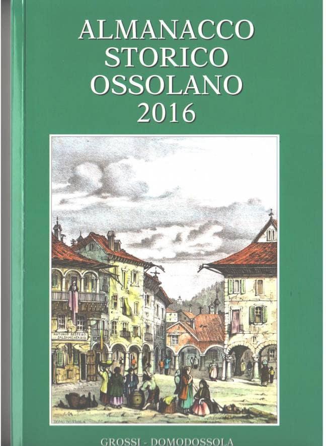 Almanacco Storico Ossolano 2016