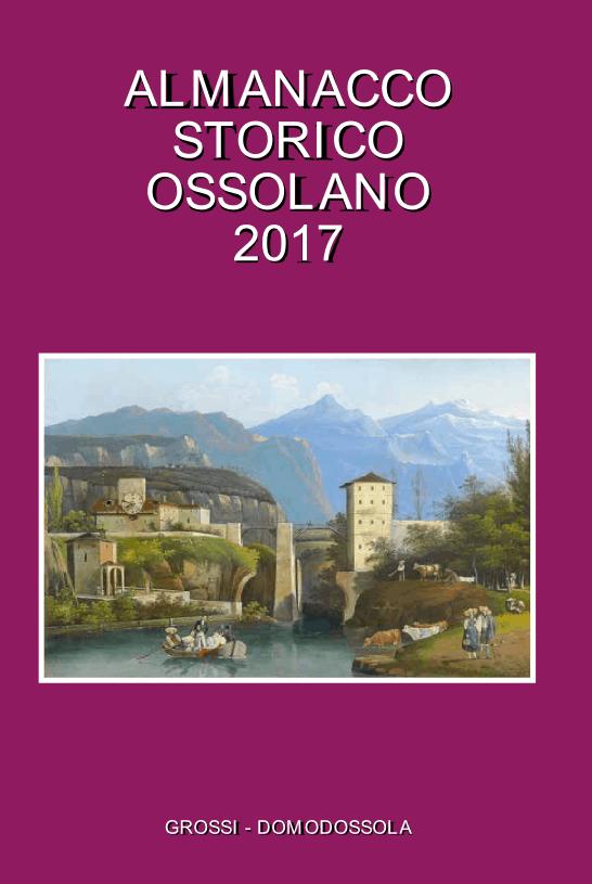Almanacco Storico Ossolano 2017