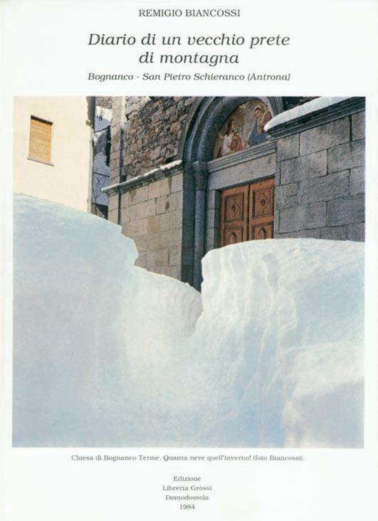 Diario di un vecchio prete di montagna