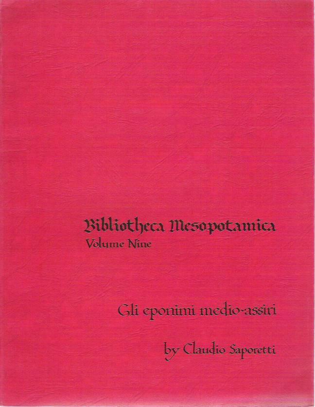 Gli eponimi medio-assiri