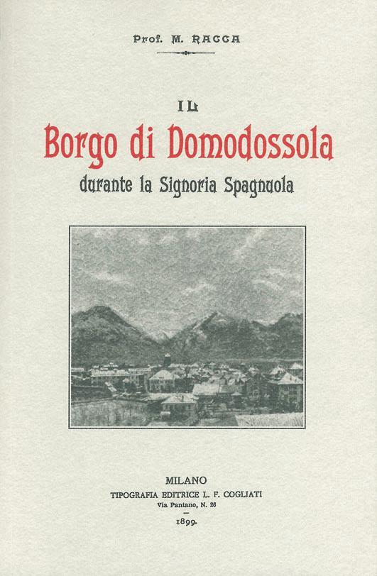 Il Borgo di Domodossola durante la Signoria Spagnuola
