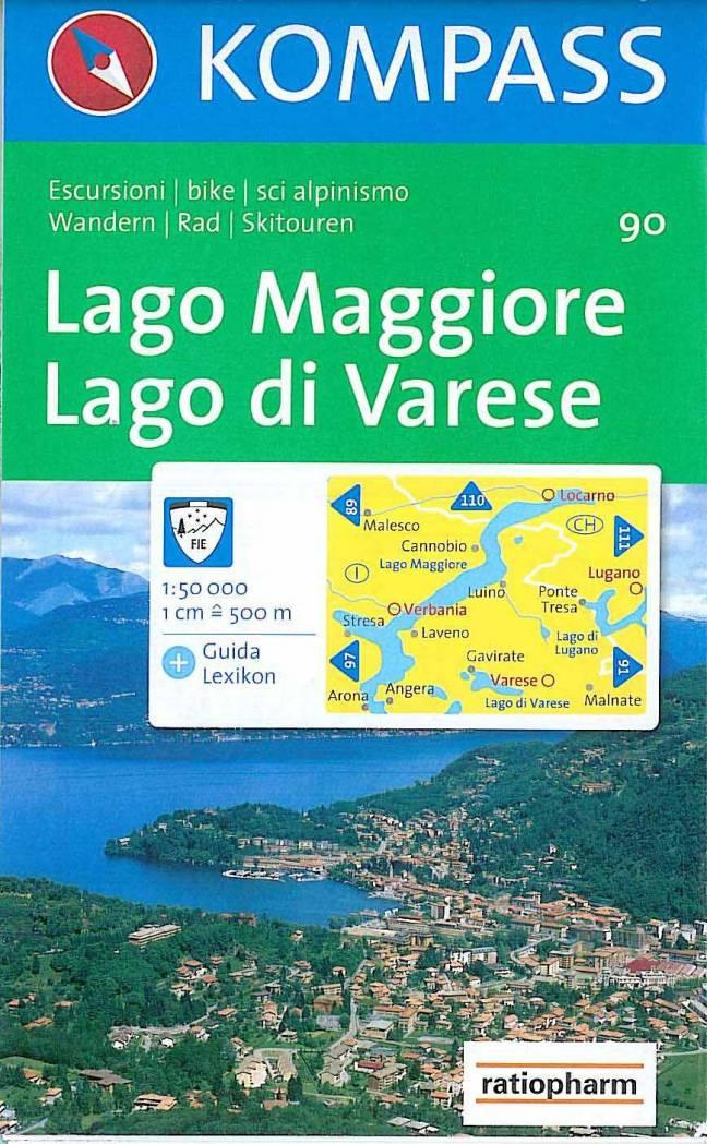Lago Maggiore e Lago di Varese (Kompass)