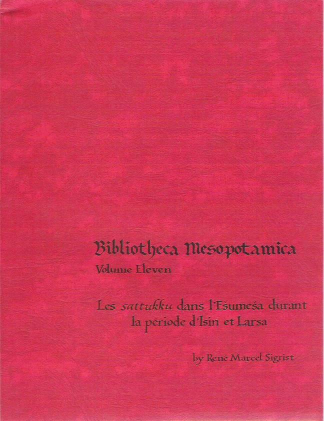 Les sattukku dans l'Esumesa durant la période d'Isin et Larsa