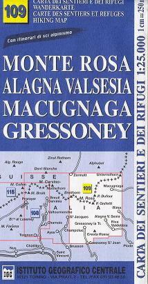 Monte Rosa Alagna Valsesia Macugnaga Gressoney (IGC)