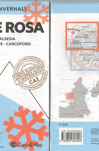 Monte Rosa - percorsi invernali