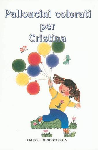 Palloncini colorati per Cristina