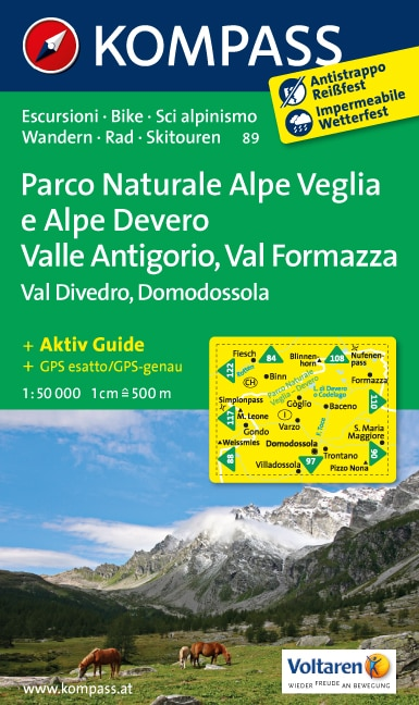 Parco Naturale Alpe Veglia e Alpe Devero, Domodossola