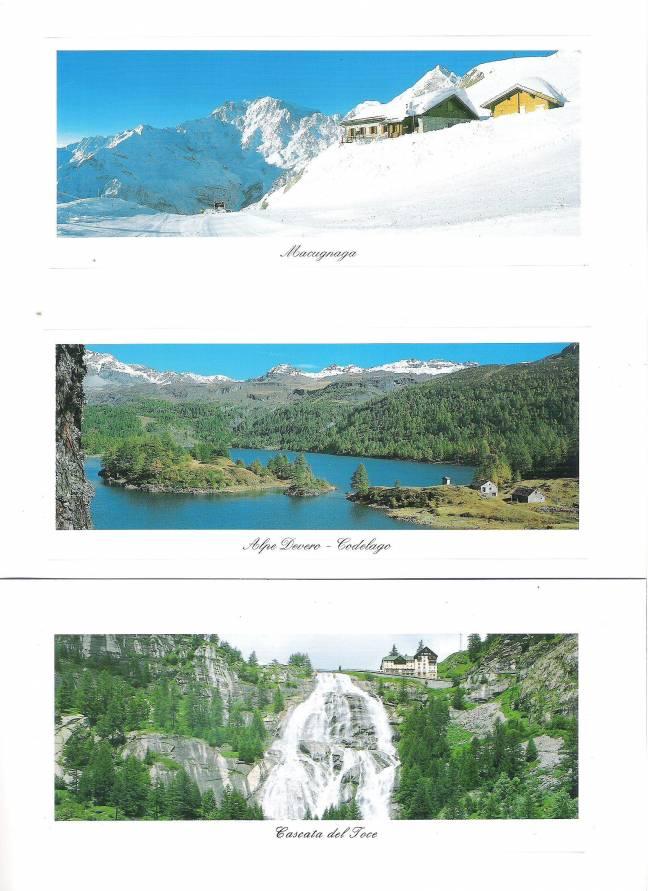 Set di 50 cartoline a colori