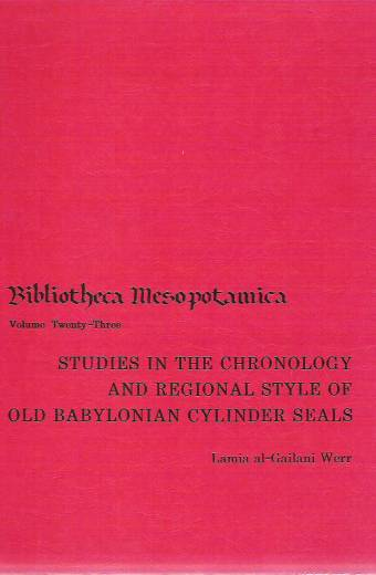 Studies in the Chronology and Regional Style of Old Babylonian C